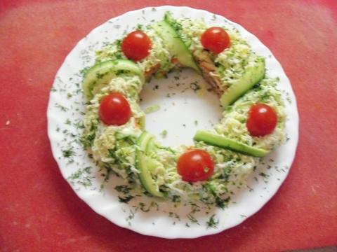 рецепты рождественских салатов с фото